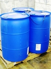 3 55 gallon drums on pallet