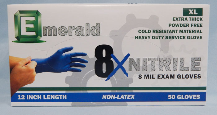 Emerald brand heavy duty gloves - extra large size