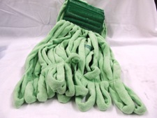 green thick loop mop head
