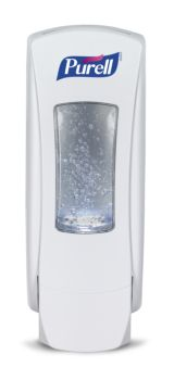 white wall mount sanitizer dispenser, Purell Brand