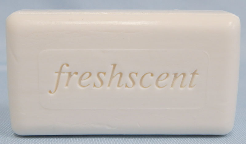 Freshscent bar soap unwrapped
