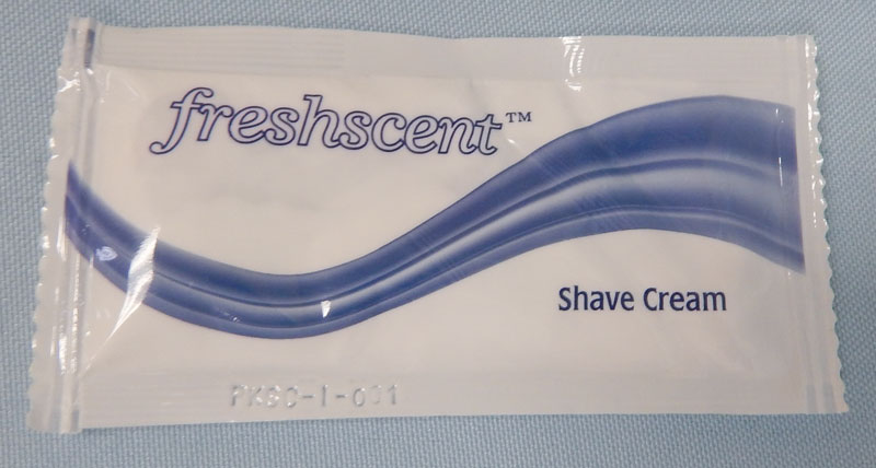 Freshscent shave cream - packet