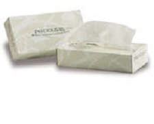 2 packs of facial tissue, green certified