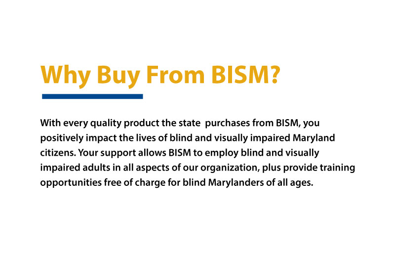Why Buy From BISM? description